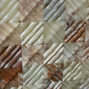 سه بعدی مرمر کاهویی