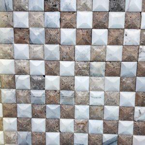 شطرنجی روتوری سفید شکلاتی
